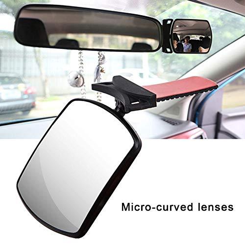 Binwe Specchio per Auto per Bambini, Specchietto retrovisore ruotabile antisfondamento Seggiolino per Bambini Tranquillità per Tenere d'occhio Il Bambino