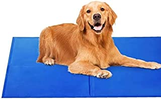The DDS Store Pet Dog Cat Cooling Gel Mat Bed Summer Heat Relief Non Toxic Cushion Pad (50 cm x 65 cm).