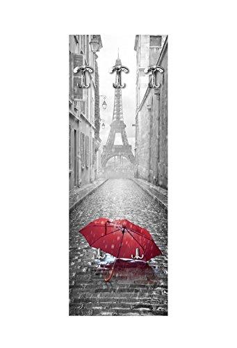 Lupia Appendiabiti da Parete 49X139 cm Umbrella Paris