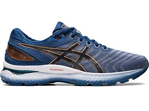ASICS Men's Gel-Nimbus 22 Shoes, 11.5M, Glacier Grey/Graphite Grey