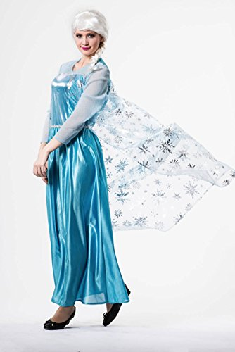 Disfraz Princesa del hielo para mujer