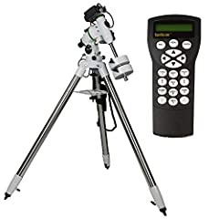 INNOVATIVE MODULAR DESIGN: Customizable design allows for the EQM-35 to be used as a standard EQ mount or as a lightweight tracking platform using a dec bracket (sold separately), making it the perfect grab-and-go telescope mount ALL-METAL CONSTRUCTI...