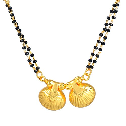 Memoir Gold Plated Carved Double wati Simple and Sober Manga