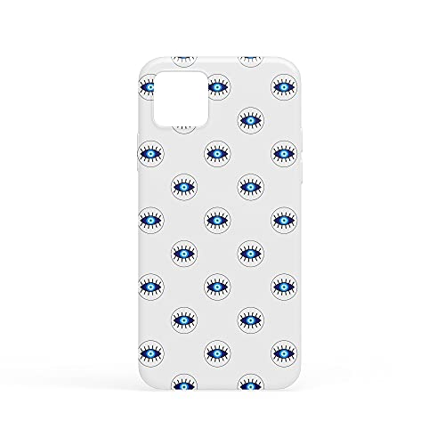 Bonamaison Funda con impresión Digital Compatible con iPhone 11, Carcasa Protectora, antigolpes, Silicona, Flexible
