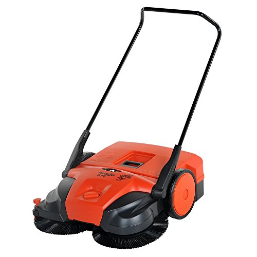 "Haaga 677 Profi-line Battery Powered Triple Brush Sweeper, 31"" Width"