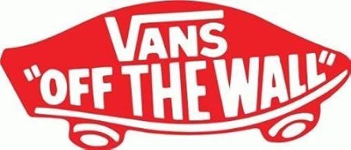 Más frágil omitir  Vans Off The Wall Snowboard Bumper Sticker 6' x 3': Amazon.co.uk: DIY &  Tools