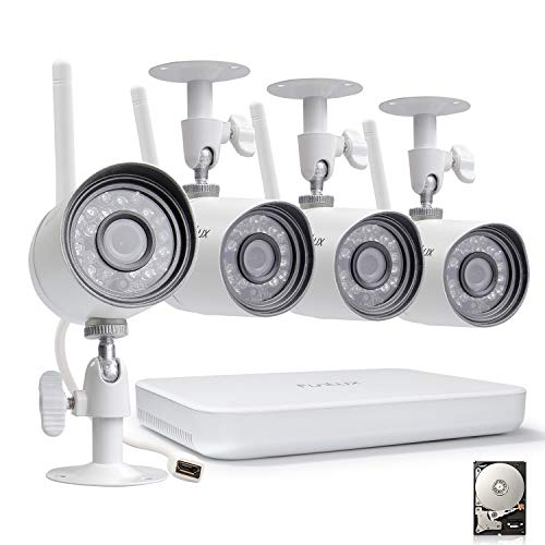 Funlux 4 Channel Home Security Camera System