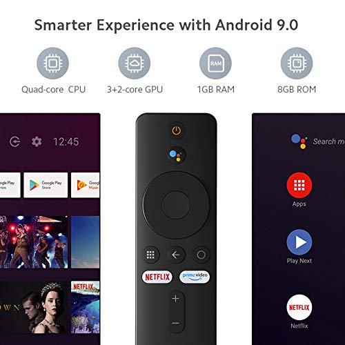 Xiaomi Mi TV Stick HD-Multimedia-Player Streaming Player mit Bluetooth, 1080P HD, Dolby Audio, DTS HD, Android 9