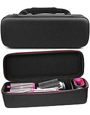Kyrio Reseförvaringsväska för Dyson Airwrap Styler hårlocktång tillbehör, hårt skal stötsäker dammtät bärväska organisering skyddande låda för Dyson Airwrap Styler