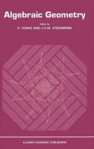 Algebraic Geometry: Proceedings of the Conference at Berlin 9-15 March 1988