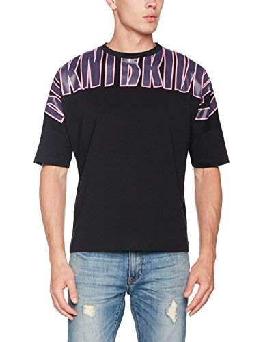 New Look Burnt Bridges T-Shirt, Nero (Black 1), Medium (Taglia Produttore: 52) Uomo
