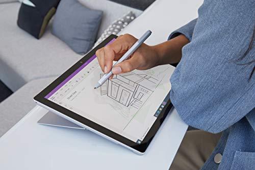 Microsoft Surface Pro 7 Ordinateur Portable (Windows 10, écran tactile 12.3', Intel Core i7, 16Go RAM, 256Go SSD, Platine) PC Hybride polyvalent & performant