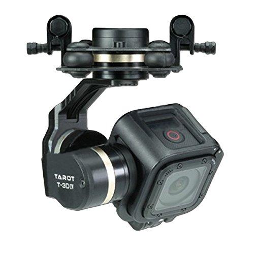 HELEISH Tarocchi TL3T02 T-3D IV 3 assi Gimbal Brushless for fotocamera Hero 4 SESSION for RC Drone FPV Racing Parti di assemblaggio fai-da-te