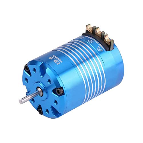 Dilwe RC Auto Motor, 2 Pole 540 4.5T / 13.5T Sensored Brushless Motor-RC-Teil für 1/10 Fernbedienung Auto-Zubehörteile(13.5T)