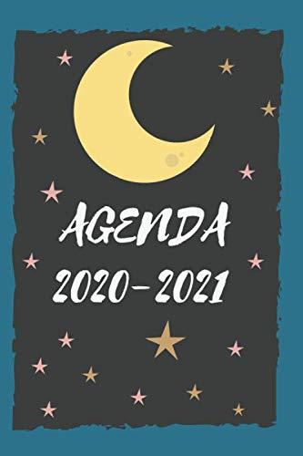 Agenda 2020 2021: Agenda scuola 2020-2021, Agenda giornaliera 12 mesi, Diario scolastico, Agenda settimanale, formato A5, calendario, programma, ... annuale, planner, orario lezioni, organizer