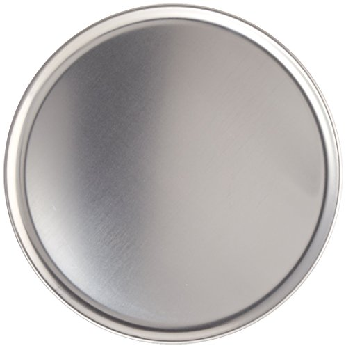 New Star Foodservice 51025 Pizza Pan/Tray Coupe Style Aluminum 12 inch Pack of 6