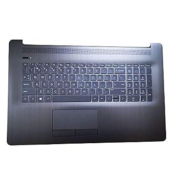 L22749-001 for HP Pavilion 17-by 17BY 17-CA 17-BY0021DX 17-BY3613DX 17-BY1053DX 17-BY1033DX Palmrest W/Backlit Keyboard Touchpad Top Cover AHS W/TP W/KB AHS BL US