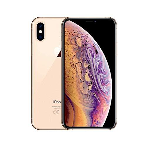 Apple iPhone XS Max, Fully Unlocked, 256 GB - Gold (Renewed)