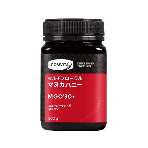 マルチフローラル マヌカハニー MGO30+ 500g