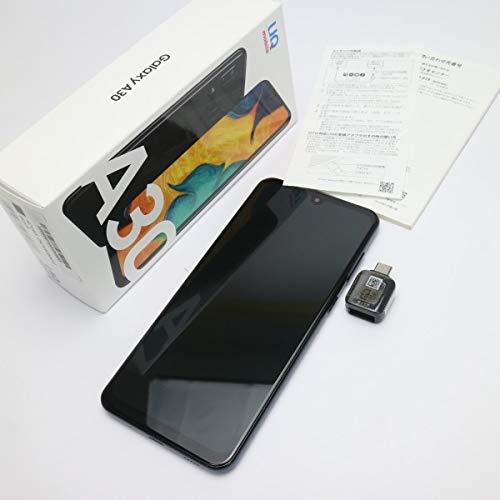サムスン Galaxy A30 SCV43 ブラック UQ mobile版