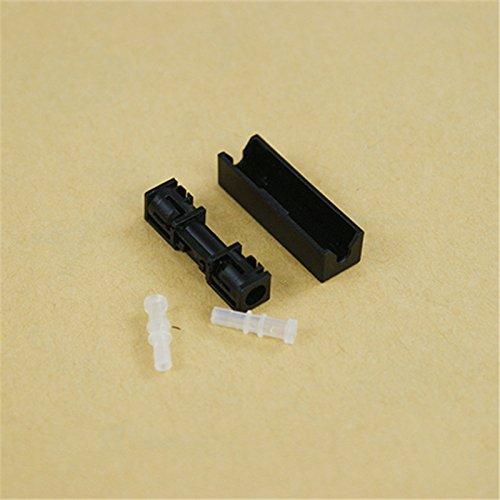 wroadavee Connecteur extensible, adaptateur de câble de frein en fibre optique et broche en plastique.