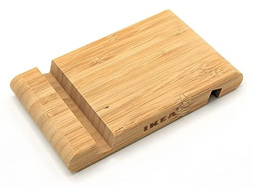 Ikea 2 supports en bambou pour téléphone portable/tablette