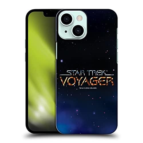 Head Case Designs sous Licence Officielle Star Trek Voyageur Art Clé Coque Dure pour l'arrière Compatible avec Apple iPhone 13 Mini