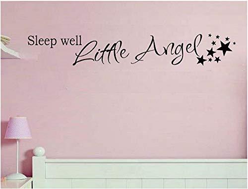 Schlaf gut kleiner Engel Wall Decal