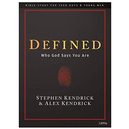 Defined - Teen Guys' Bible Study Book: Who God Says You Are