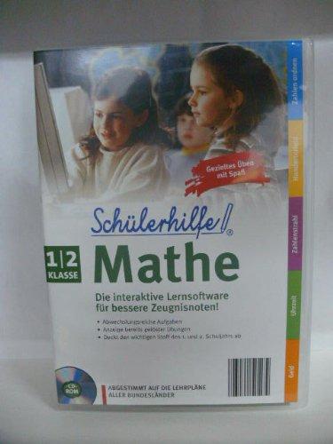 Schülerhilfe! ~ Mathe Klasse 1/2  ~ Die interaktive Lernsoftware für bessere Zeugnisnoten! ~ Abgestimmt auf die Lehrpläne aller Bundesländer