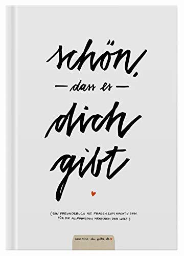 Witziges Gästebuch mit Fragen zum Ausfüllen, Freundebuch für Erwachsene zum Schreiben & Malen,...
