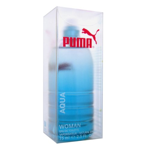 Puma Aqua Woman EDT Spray 75ml, 1er Pack (1 x 75 ml)
