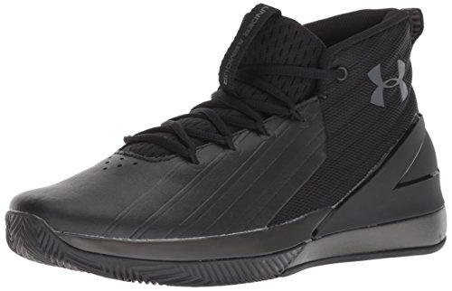 Under Armour Lockdown 3 3020622-001, Zapatos de Baloncesto para Hombre, Negro (Black 3020622/001), 47 1/2 EU