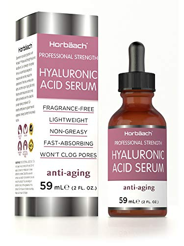 Hyaluronic Acid Serum | 59ml | Pure Moisturiser for Face | Vegan | Paraben & SLS Free | by Horbaach