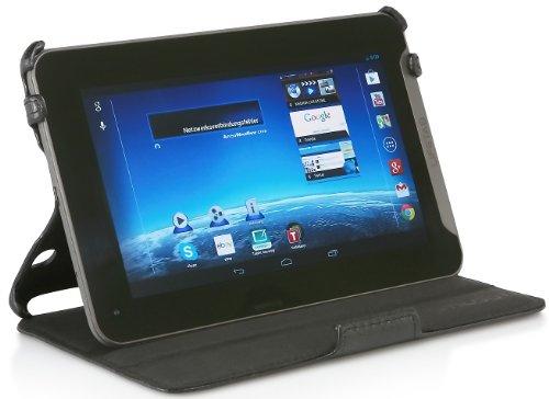StilGut UltraSlim Case, Tasche mit Stand- und Präsentationsfunktion für Medion Lifetab E7315 & E7312, schwarz