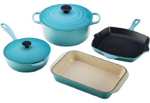 Le Creuset Signature Enameled Cookware Set
