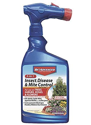 BioAdvanced 100531789 3-in-1 Insect Disease & Mite Control Spray, White