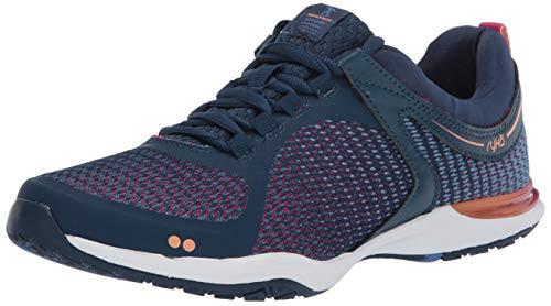 RYKA Women's Graphite Training Shoe, Navy, 8