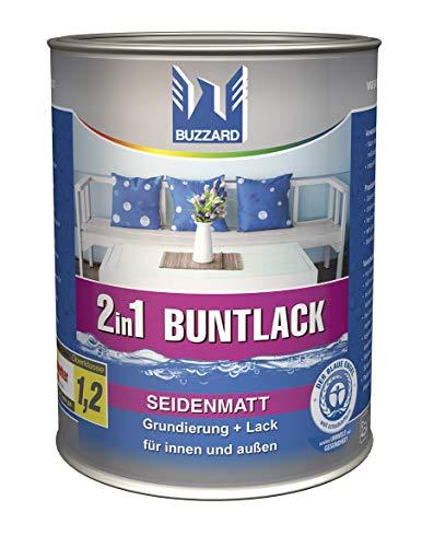 Buzzard Buntlack 750 ml/seidenmatt Farbe RAL 8003 (Lehmbraun)