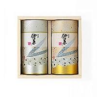 辻利兵衛本店 宇治茶ギフトセット (宇治玉露青葉150g・強火焙煎朝日200g )