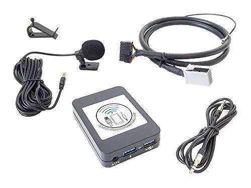 Bluetooth Connector 1701-1 Bluetooth | FSE | USB | AUX | Charge für VAG Radios - jetzt noch mehr Modelle - Musik streamen, Freisprecheinrichtung, Handy Laden, u.a.m.