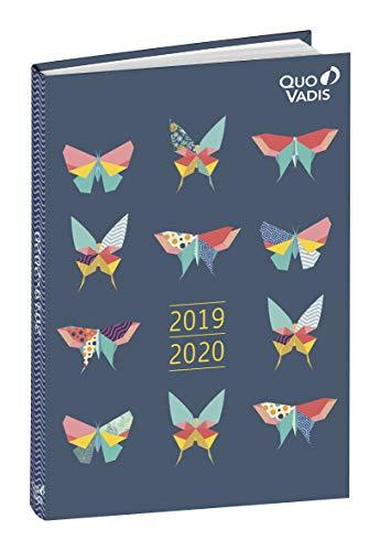 Agenda Escolar 1 Día/Página 2019-2020 Butterfly, 12x17cm,...