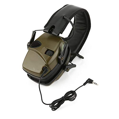 Outdoor Foldable Noise Reduction Electronic Safety Ear Muffs Tactical Ear Plugs Shooting Hunting
