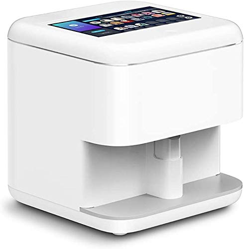 ZNXY 3D Nail Printers Portable Painting Machine, Professional Digital Nail Art Printer All-Intelligent Nail Printers