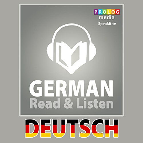 German Phrase Book audiobook cover art