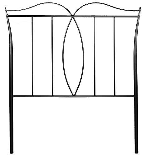 Cabecero de forja Alba - Blanco 36, Cabecero de 200 cm.