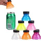 Tapones para latas,6 Piezas Tapa De Lata Antipolvo Reutilizable, Fácil Limpieza...