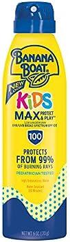 2-Count Banana Boat Kids Max Protect & Play Spray Sunscreen