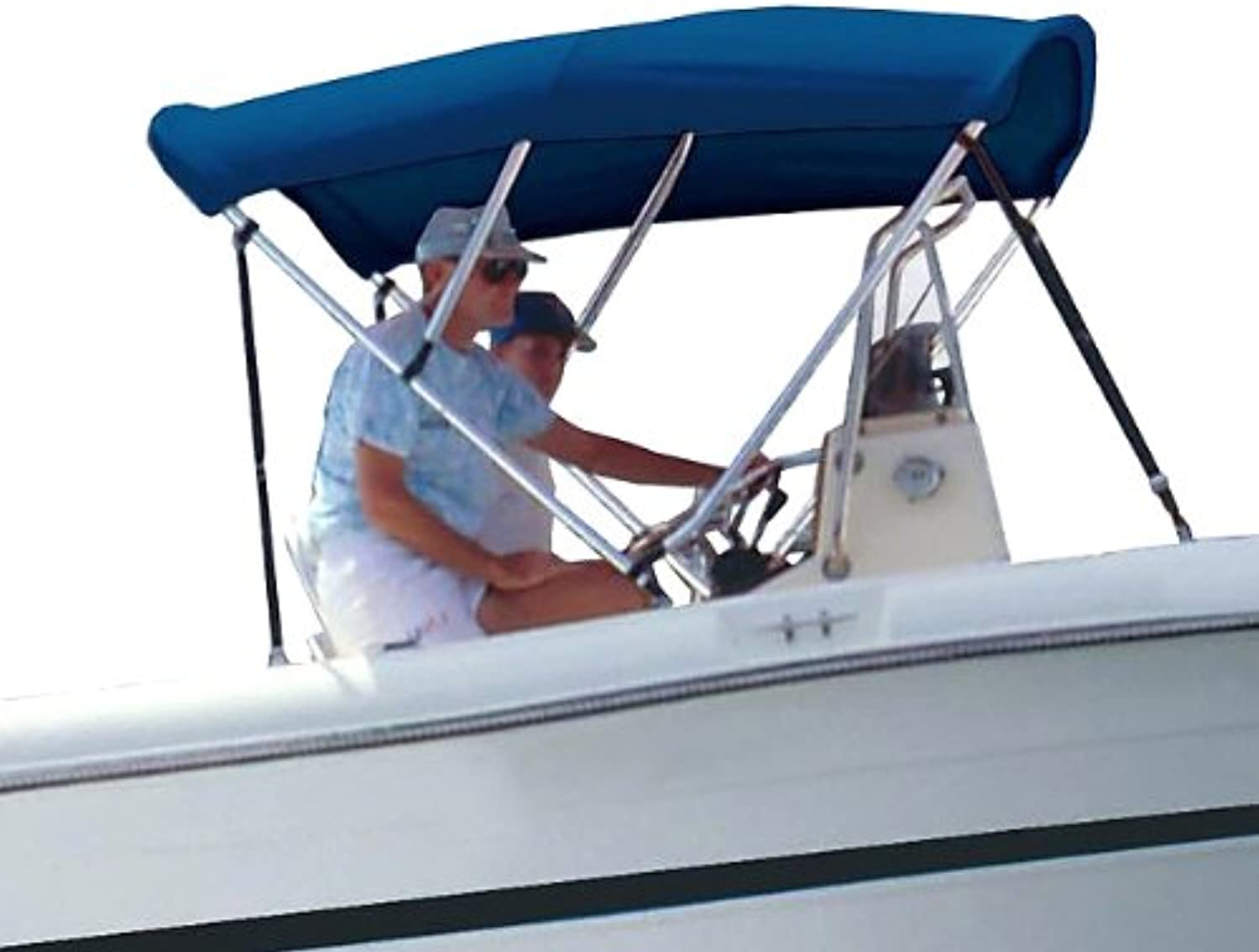 Survivor Marine Products Bimini Top (Fabric Only), Navy, 6Feet Length x 54Inch Height x 6772Inch Width