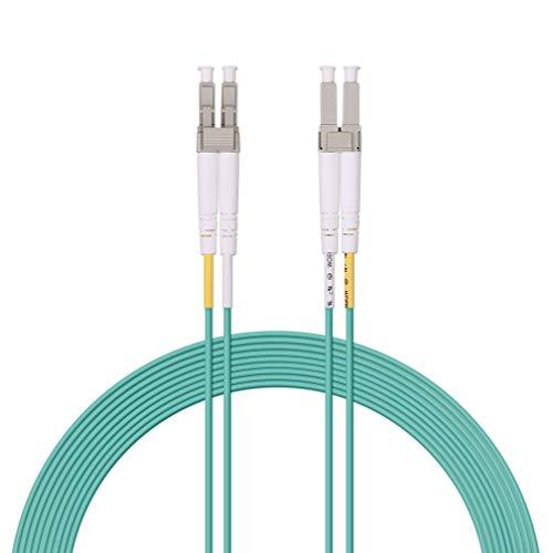 Fiber Patch Cable - LC to LC OM3 10Gb/Gigabit Multi-Mode Jumper Duplex...